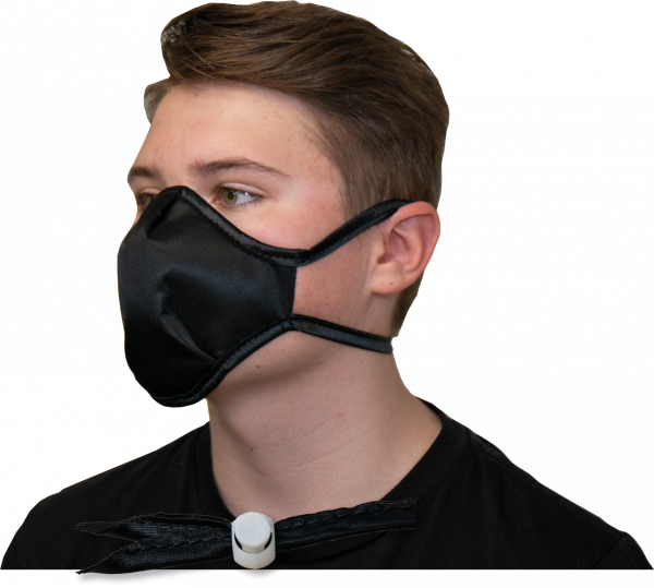 INTERCEPT CU22™ Set Maske schwarz Kind